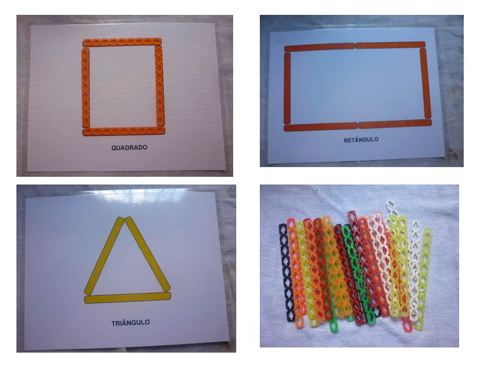 Fabuloso Atividades Pedagógicas de Cores e Formas Geométricas para autistas  VF78