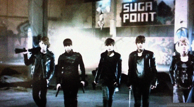 Killer SHINee VCR from the First Japan Arena Tour DVD
