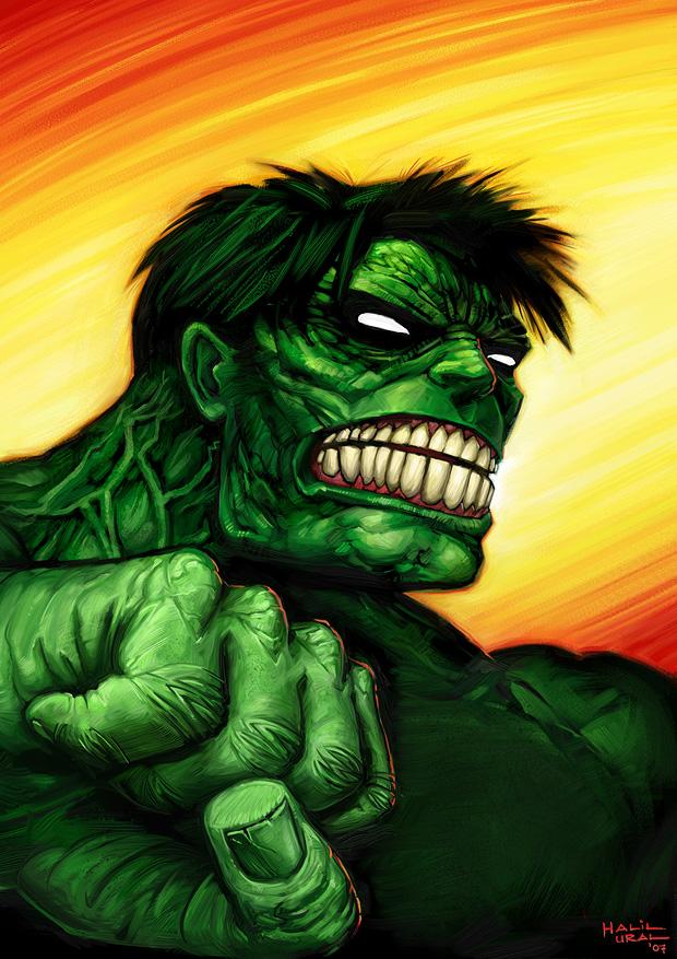 Hulk por MrDream