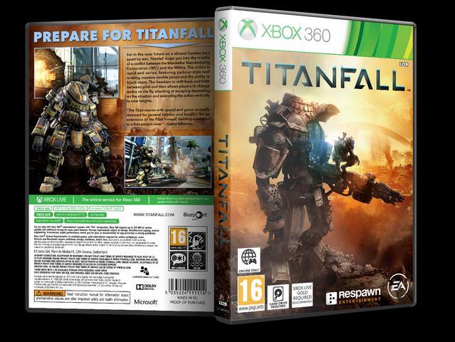 Capa Titanfall Xbox 360