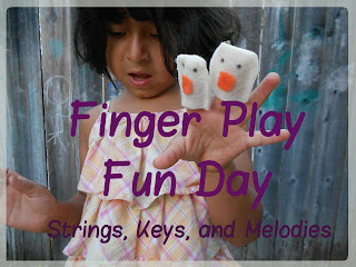 Finger Play Fun Day Strings, Keys, and Melodies Weekly Series photo