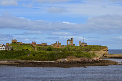 Tynemouth Priory view from DFDS Seaways