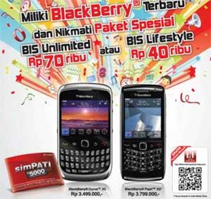 Tips: Daftar Paket Blackberry Via Kartu simPATI & Kartu As