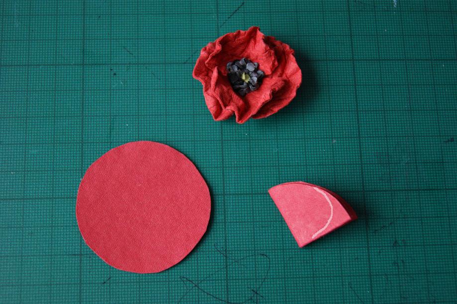 Как сделать цветы маки из бумаги своими руками