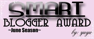 Segmen : Smart Blogger Award June Season by Yuyu sesia