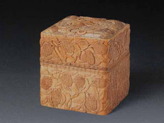 "<img src=""Ming Ivory.jpg"" alt=""Carved relief worked ivory box "">"