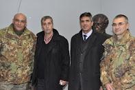 Il Gen Com Andrea Borzaga e Autorità politiche in missione...umanitaria