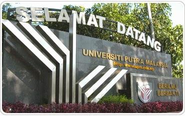 Universiti Putra Malaysia Kedudukan Ke-54 Dunia