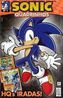 Capa do Sonic Universe 1