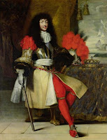 Portrait of Louis XIV around 1670