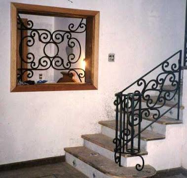 Entrada para escada..