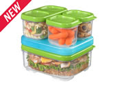 Rubbermaid lunch packs