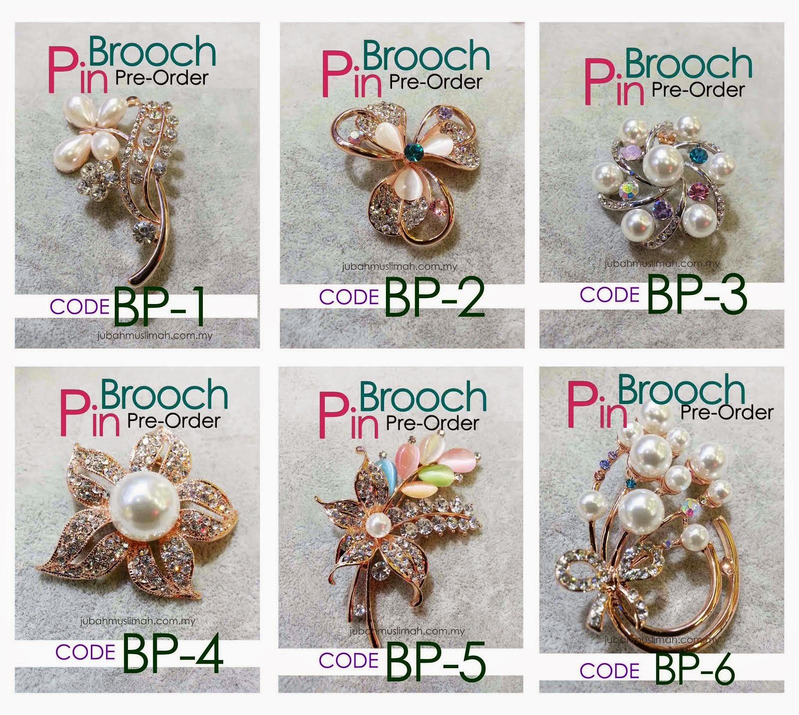 Brooch Borong