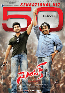 naayak 50 days posters