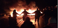 Elsipogtog: Tires on fire in fracking blockade