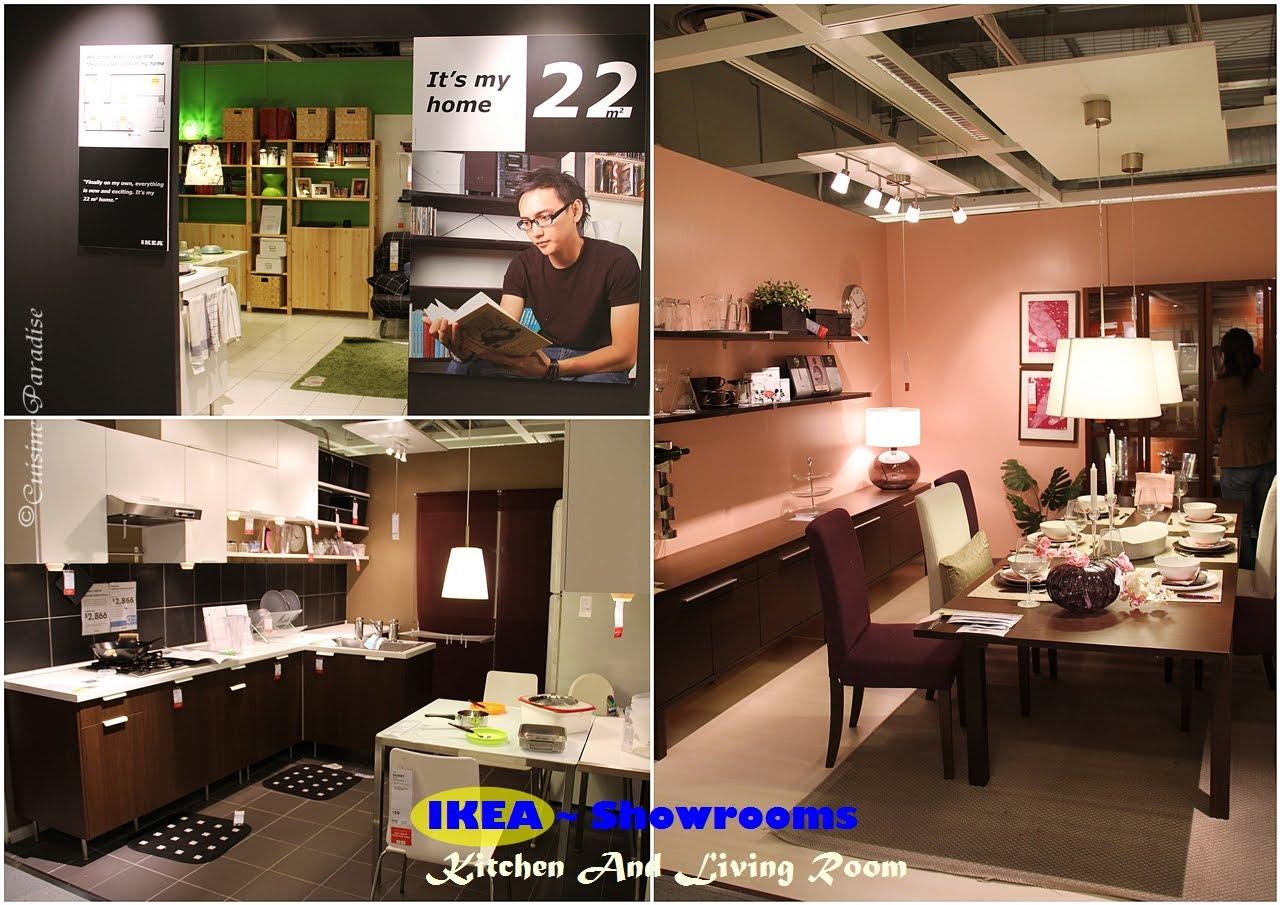 Cuisine paradise singapore food blog recipes reviews for Ikea showroom near me
