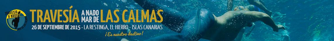 Travesía a nado Mar de Las Calmas · Travesía a nado en aguas abiertas, Islas Canarias