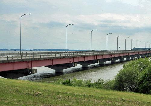 Kasumigaura Bridge, Ibaraki.