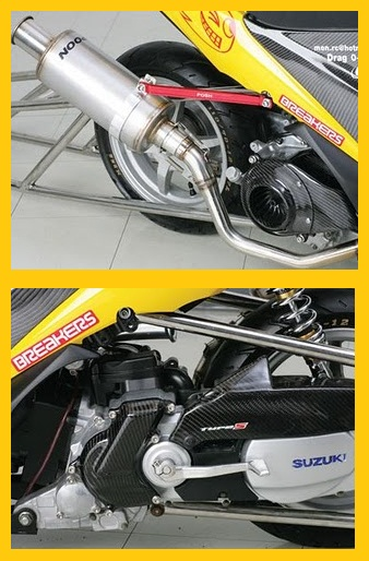 Modifikasi Motor Suzuki Spin Skuter Matik Racing 2.jpg
