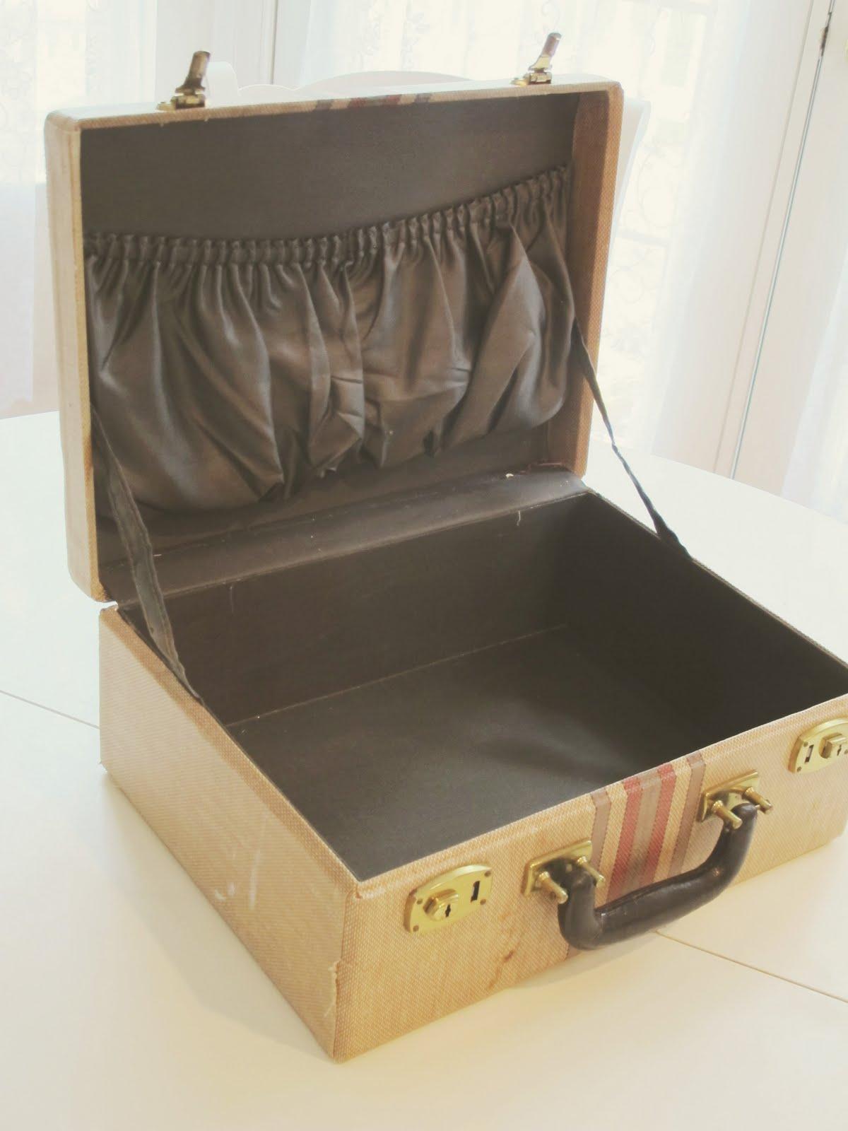 Чемодан из коробки из под обуви своими руками