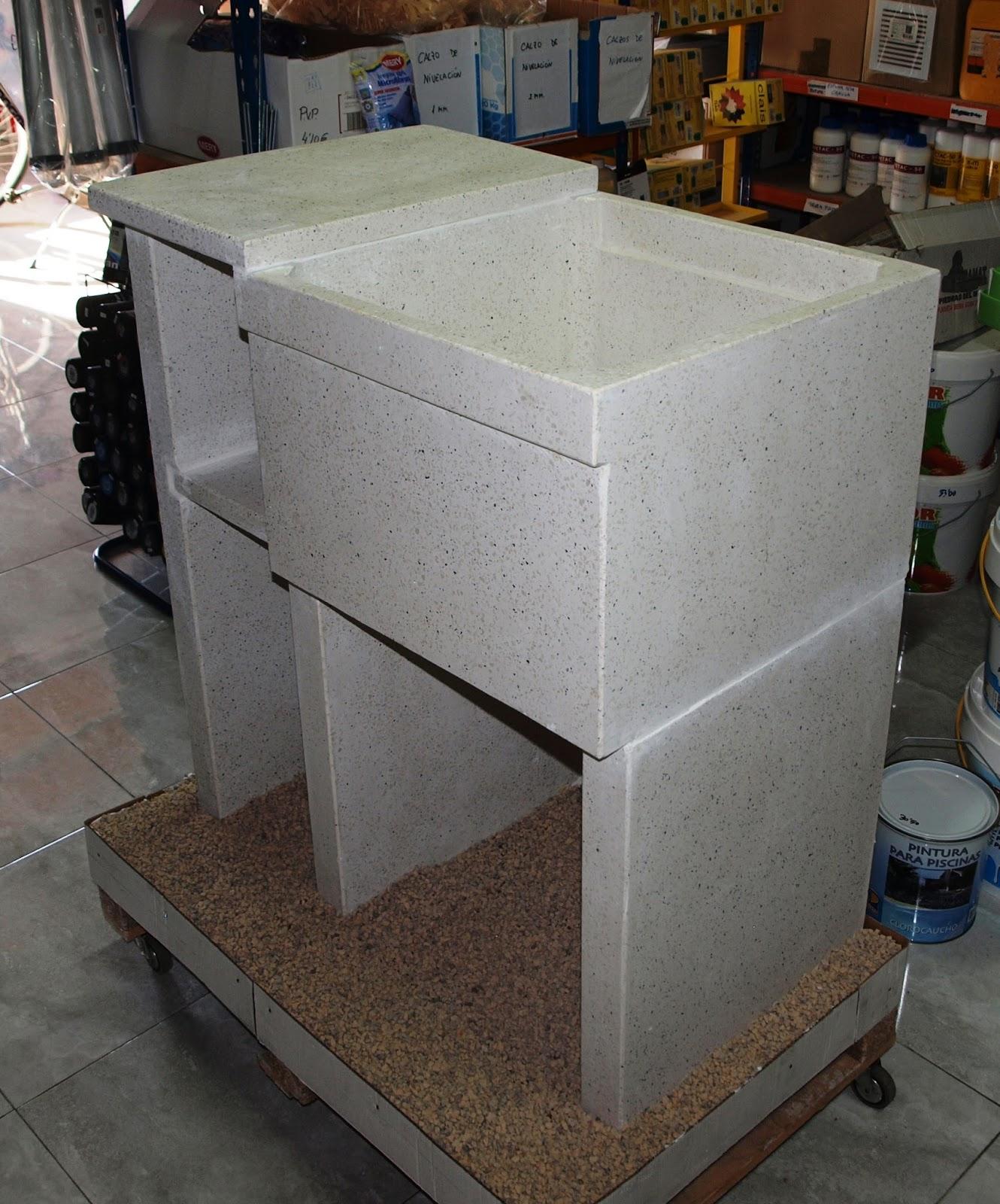Materiales renau sl lavaderos y fregaderos de granito for Lavadero de granito