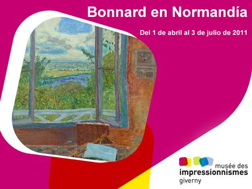 Turismo de francia exposici n bonnard en normand a for Pierre bonnard la fenetre ouverte