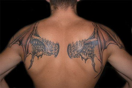 Back Wings Galleries Tattoos