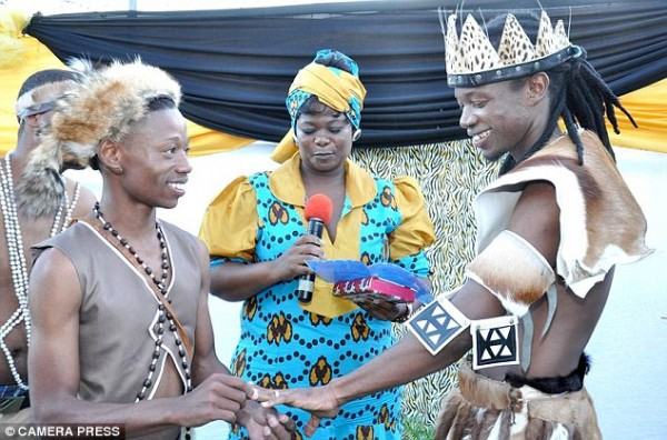 John Oluwole S Blog The First Traditional African Gay Wedding Ceremony