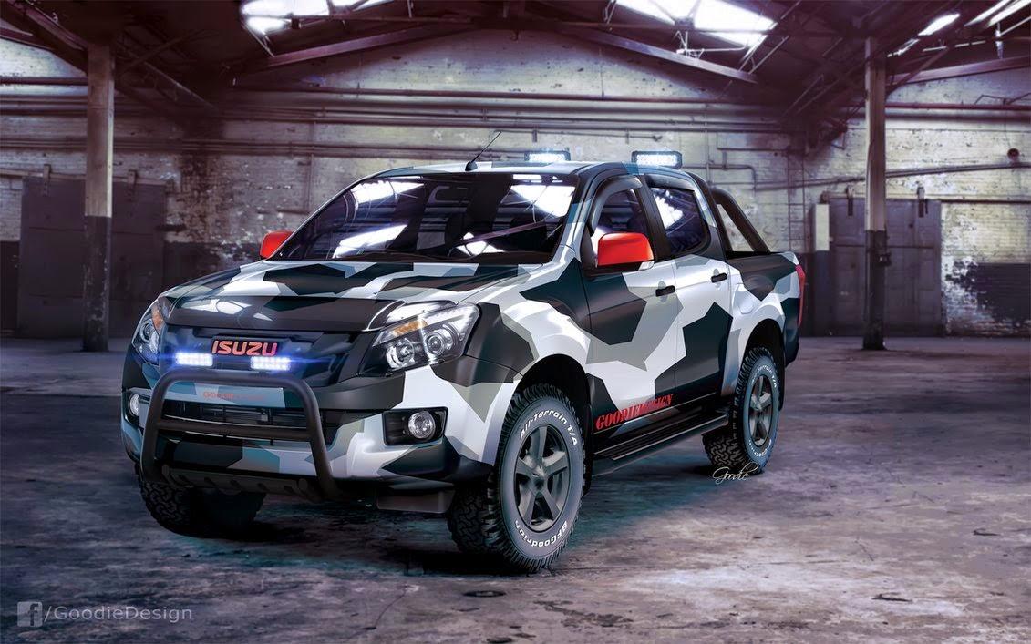 Modifikasi Mobil Isuzu D-Max Keren