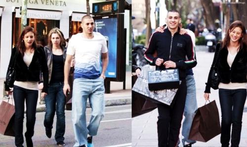 Karim Benzema With Girlfriend Pics