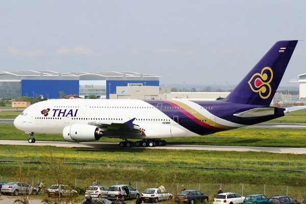 Airbus A380 Thai Airways. ZonaAero