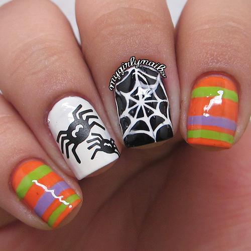 Diseños para uñas en halloween