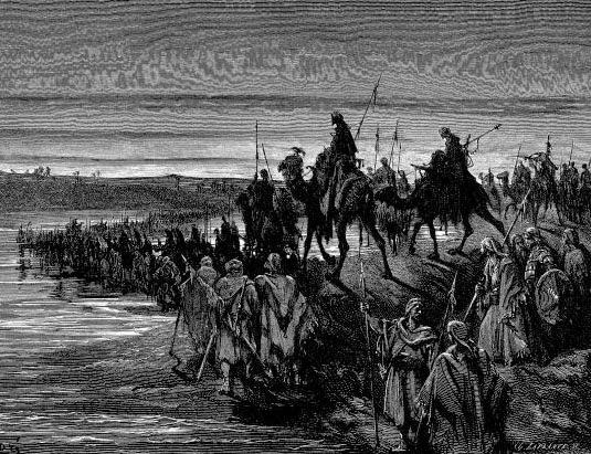 Pasukan Thalut Melewati Sungai