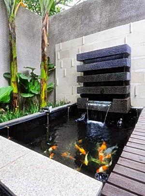 Jasa pembuatan kolam minimalis | kolam koi | saung gazebo | batu alam | miniatur air terjun