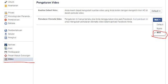 Cara Mudah Menonaktifkan Fitur Video Auto-play di Facebook