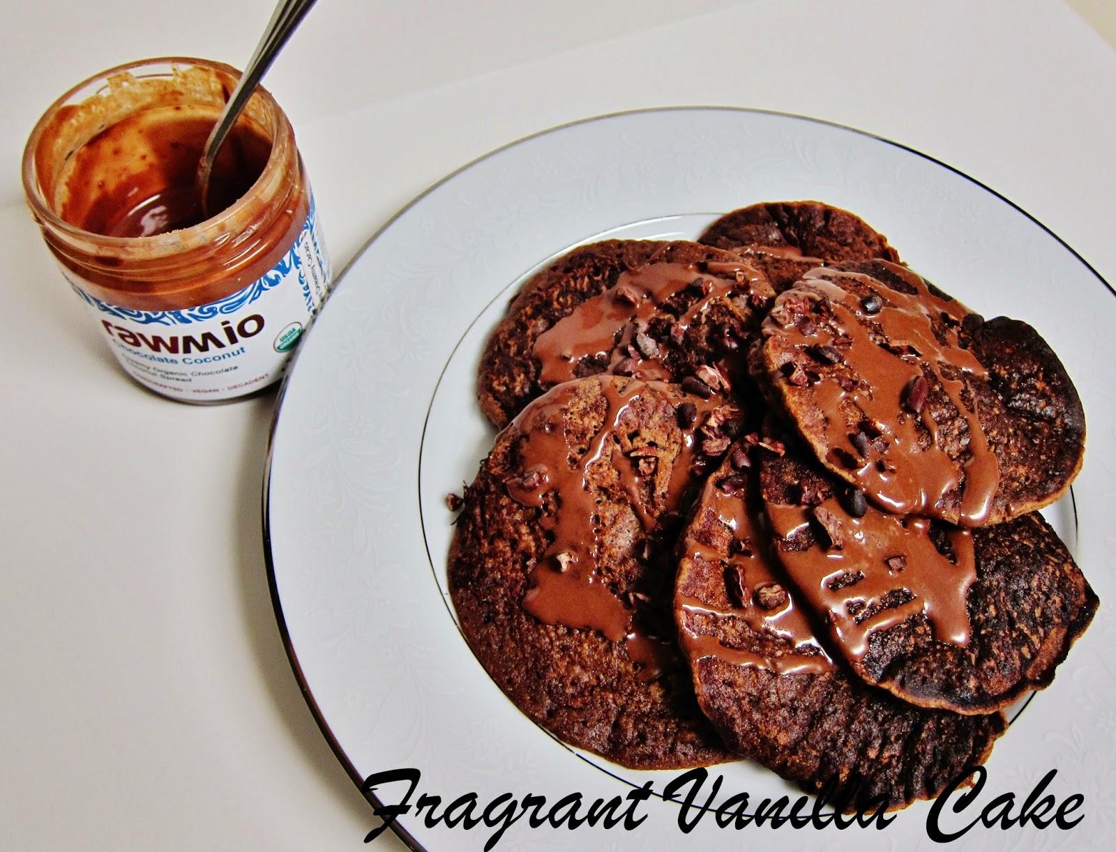 Vegan Chocolate Gingerbread Pancakes (gluten free)