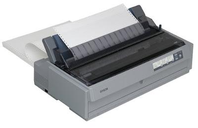 Cara Service Printer Dotmetrix Sering Kertas Sobek Dan Pita Sobek