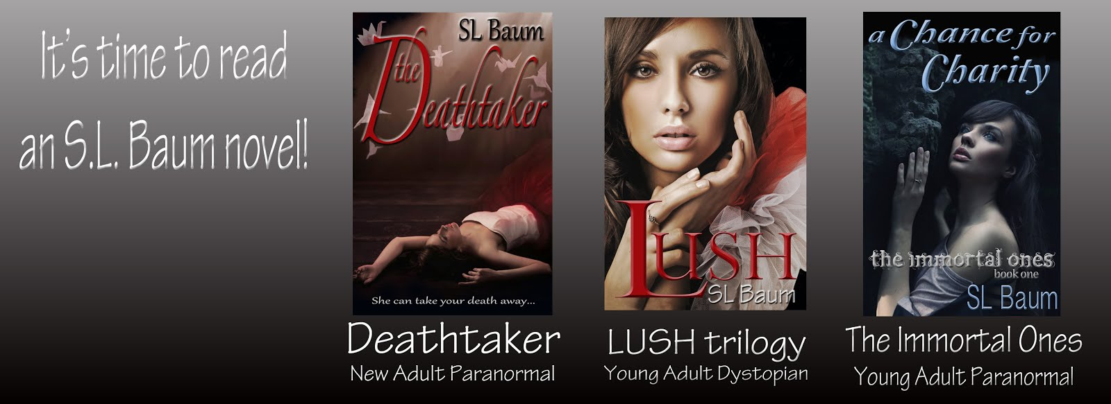 My novels are available as EBooks & Paperbacks
