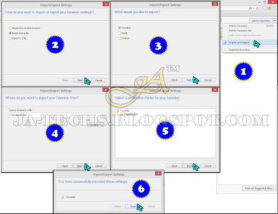 How to Import Bookmarks in Internet Explorer