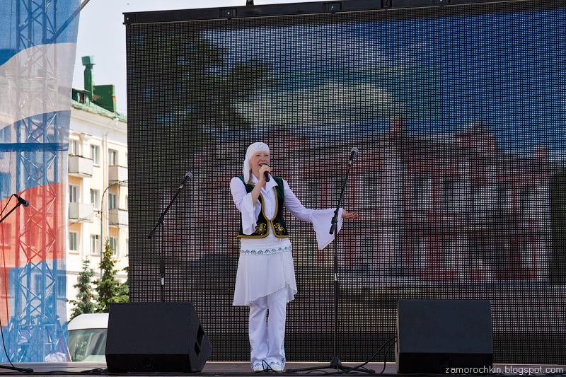 Фестиваль национальных культур. День города в Саранске