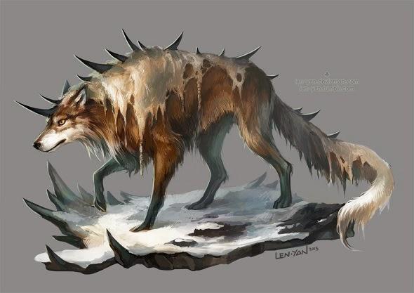 Magdalena Pągowska len-yan deviantart ilustrações fantasia
