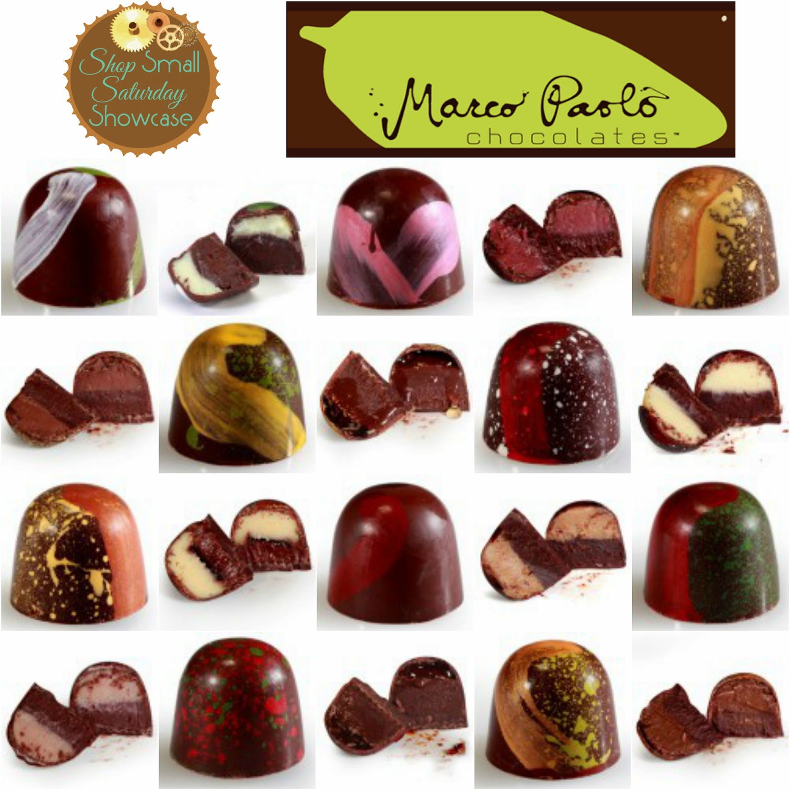 Marco Paolo Chocolates feature, GIVEAWAY & promo! on Shop Small Saturday Showcase at Diane's Vintage Zest!