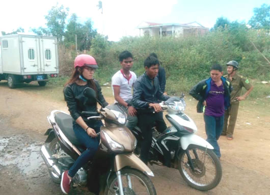 Gia Lai: Tạm giữ 2 nghi phạm cướp giật tài sản
