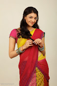 Kajal Agarwal Cute Half Saree Hot photo Shoot-thumbnail-7
