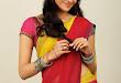 Kajal Agarwal Cute Half Saree Hot photo Shoot