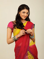 Kajal Agarwal Cute Half Saree Hot photo Shoot-cover-photo