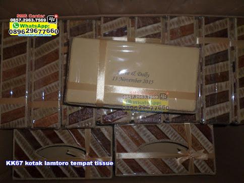 kotak lamtoro tempat tissue grosir