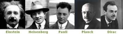 cinque uomini fondamentali della fisica moderna