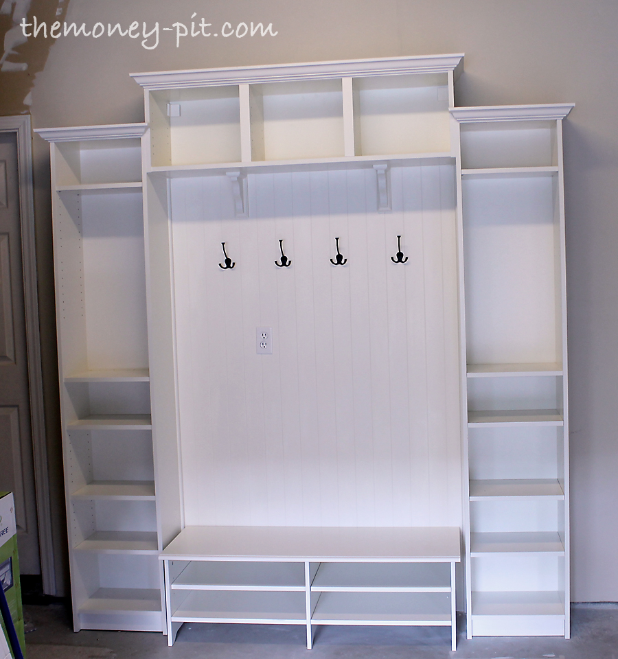 ikea hack mudroom lockers. Black Bedroom Furniture Sets. Home Design Ideas