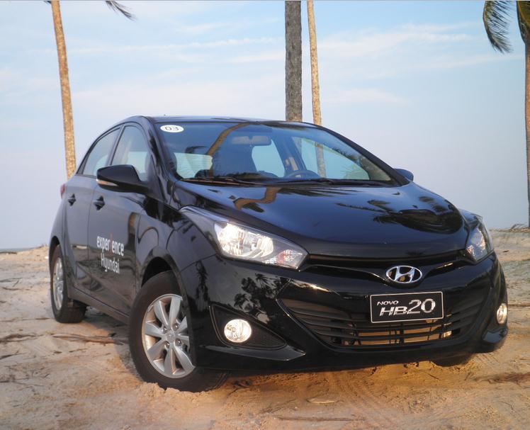 novo Hyundai HB20 2014 frente 1